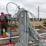 Прокладка системы кабелей в населенном пункте