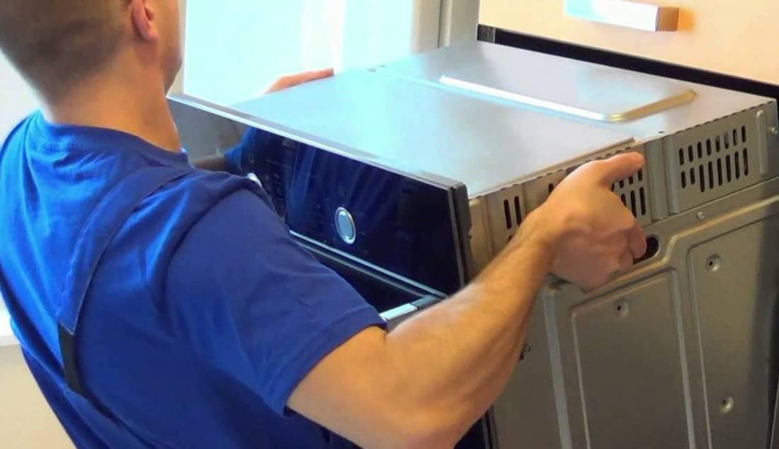 Установить встраиваемый духовой шкаф своими руками